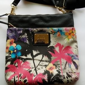 Juicy Coutur Crossbody palm Tree Beach Vacation